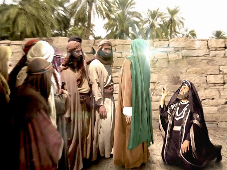 داستان صبر پیامبر و مسلمان شدن شخص یهودی