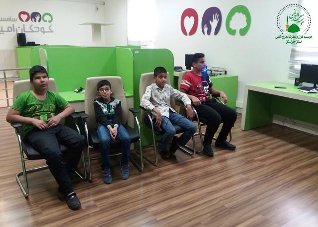 برگزاری کلاس حفظ موسسه معراج النبی خوزستان
