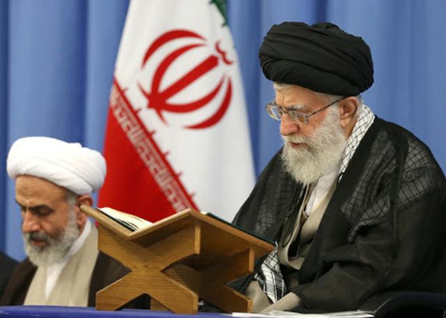 رهبر معظم انقلاب در جلسه محفل انس با قرآن