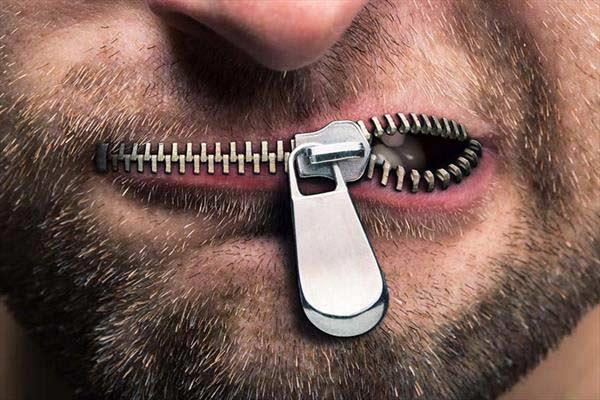 نگه داشتن زبان