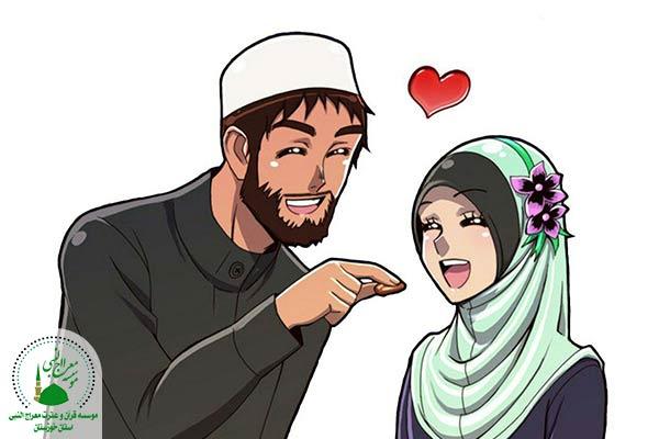 دادن لقمه به همسر | همسرداری