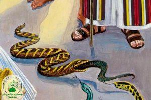 معجزه حضرت موسی (ع) | آغاز نبوت و رسالت موسی (ع)
