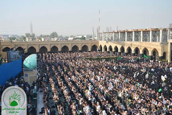 نماز جماعت در مسجد سهله