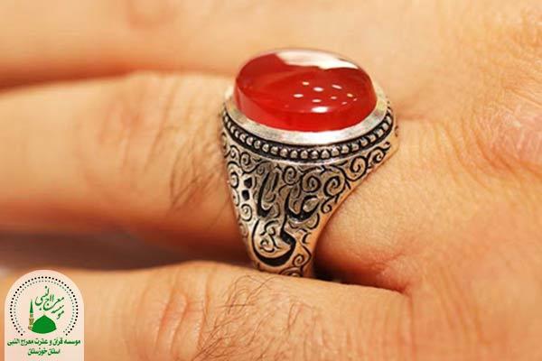 انگشتر عقیق در اسلام